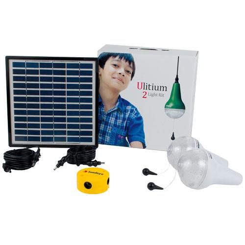 2 Ulitium 200 Solar Lightkit Weiß Sundaya