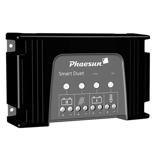 Solarladeregler Phaesun Smart Duet 20