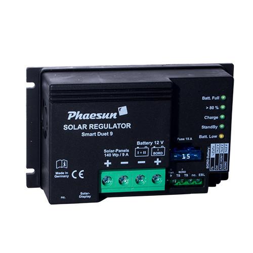 Solarladeregler Phaesun Smart Duet 9