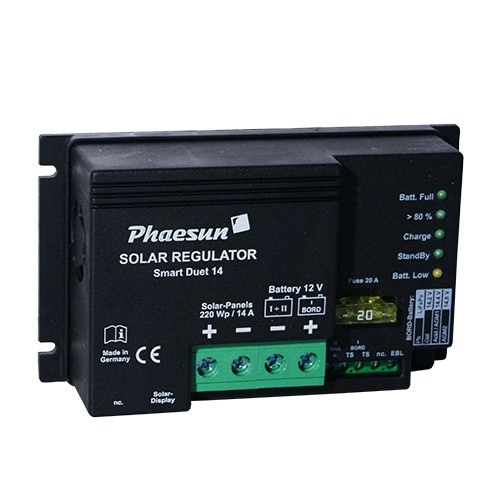 Solarladeregler Phaesun Smart Duet 14