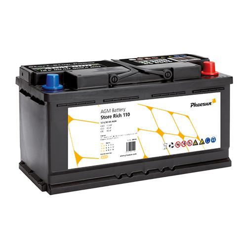 Batterie AGM Phaesun Store Rich 110