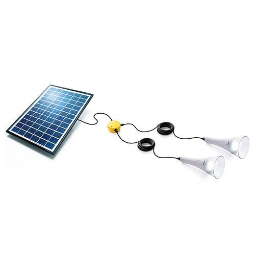 2 T-Lite Solar Lightkit Weiß Sundaya
