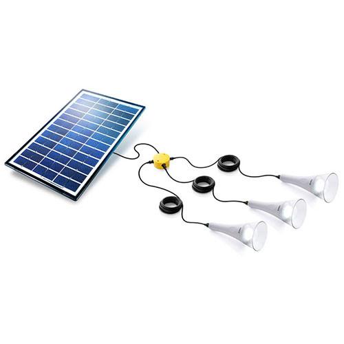 3 T-Lite Solar Lightkit Weiß Sundaya