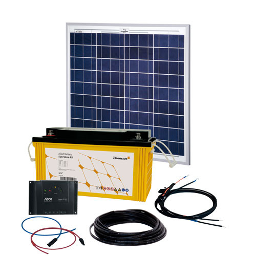 Energy Generation Kit Solar Rise 50W | 12V