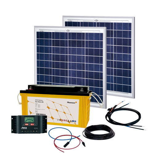 Energy Generation Kit Solar Rise 100W | 12V