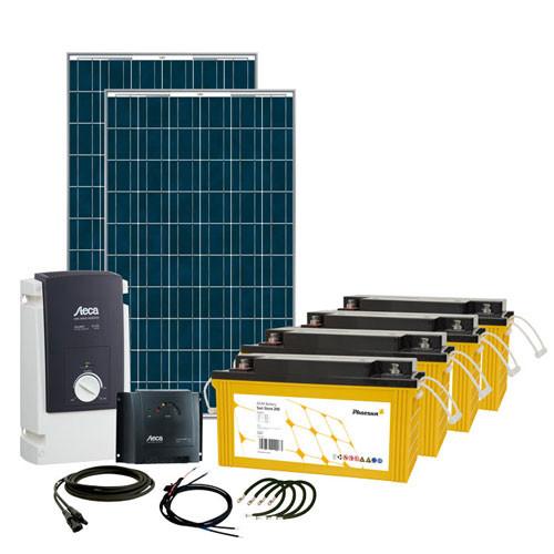 Energy Generation Kit Solar Rise Six 500W/24V