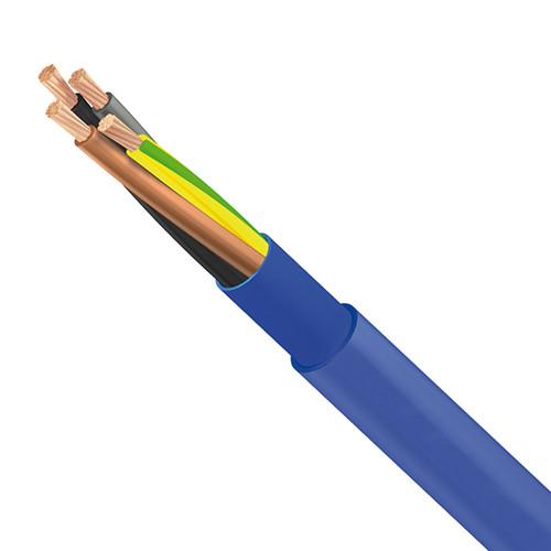 Unterwasserkabel 3G 4 Mm² Blau