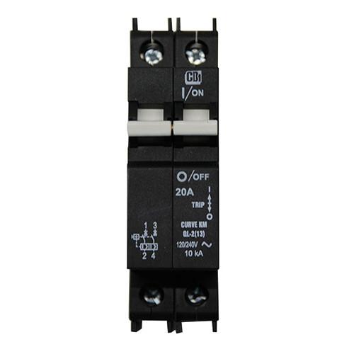 AC Circuit Breaker OBB-20D-240VAC-DIN