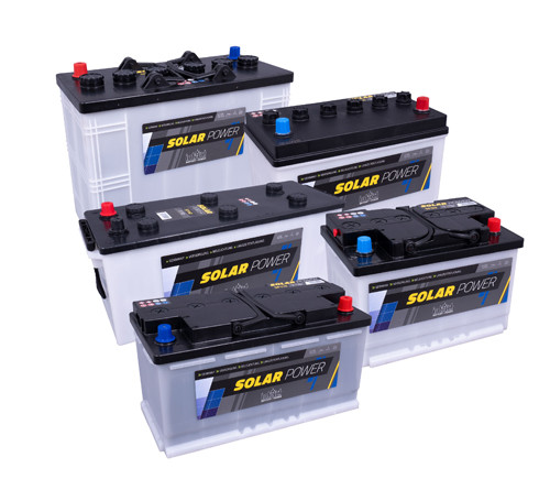 Battery Intact Solar-Power 55 GUG