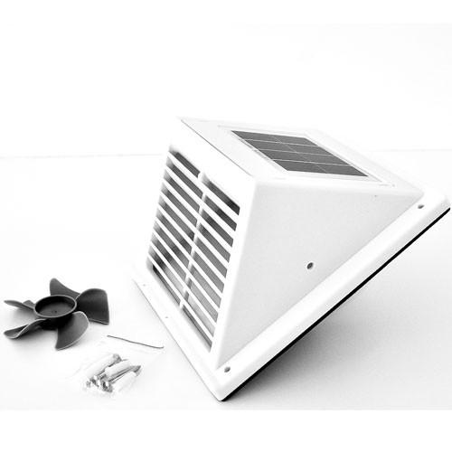 Solarlüfter Kit Fresh Breeze Weiss